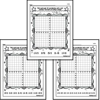 First Grade Data Worksheets Worksheet #1