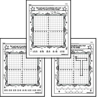 First Grade Data Worksheets Worksheet #3