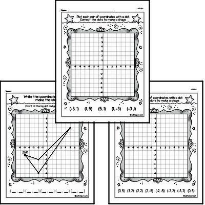 First Grade Data Worksheets Worksheet #4