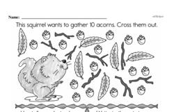 Free First Grade Data PDF Worksheets Worksheet #22