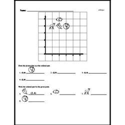 Free First Grade Data PDF Worksheets Worksheet #25