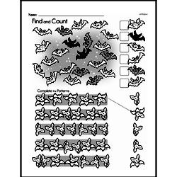 Free First Grade Data PDF Worksheets Worksheet #17