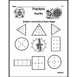 Fraction Worksheets - Free Printable Math PDFs Worksheet #152