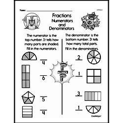 Fraction Worksheets - Free Printable Math PDFs Worksheet #257