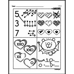 Free 1.G.A.2 Common Core PDF Math Worksheets Worksheet #20