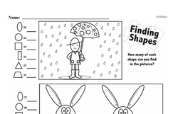 Free 1.G.A.2 Common Core PDF Math Worksheets Worksheet #11