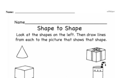 Free 1.G.A.2 Common Core PDF Math Worksheets Worksheet #5