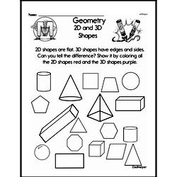 Geometry Worksheets - Free Printable Math PDFs Worksheet #214