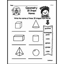 Geometry Worksheets - Free Printable Math PDFs Worksheet #19