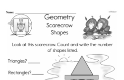 Geometry Worksheets - Free Printable Math PDFs Worksheet #268