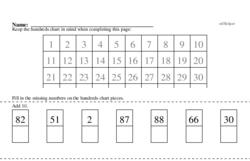 Hundreds Chart Mixed Math PDF Book