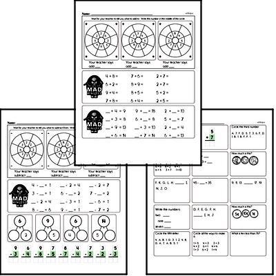 Mad Minute Timed Math Drills Mixed Math PDF Book