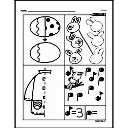 First Grade Math Challenges Worksheets - Puzzles and Brain Teasers Worksheet #92