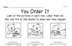 First Grade Math Challenges Worksheets - Puzzles and Brain Teasers Worksheet #145
