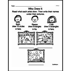 First Grade Math Challenges Worksheets - Puzzles and Brain Teasers Worksheet #35