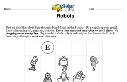 Logic Math Challenge with Robots
