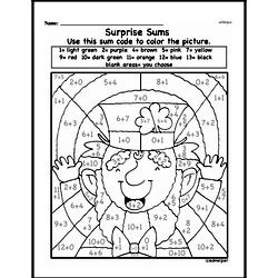 First Grade Math Challenges Worksheets - Puzzles and Brain Teasers Worksheet #77