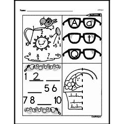First Grade Math Challenges Worksheets - Puzzles and Brain Teasers Worksheet #91