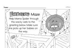 First Grade Math Challenges Worksheets - Puzzles and Brain Teasers Worksheet #125