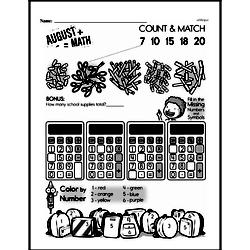 First Grade Math Challenges Worksheets - Puzzles and Brain Teasers Worksheet #62
