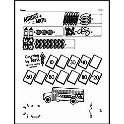 First Grade Math Challenges Worksheets - Puzzles and Brain Teasers Worksheet #42