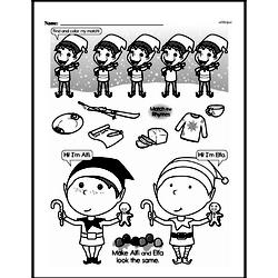 First Grade Math Challenges Worksheets - Puzzles and Brain Teasers Worksheet #110
