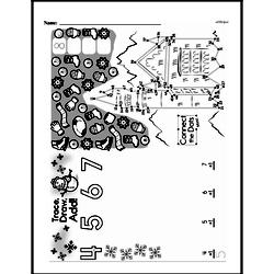First Grade Math Challenges Worksheets - Puzzles and Brain Teasers Worksheet #111