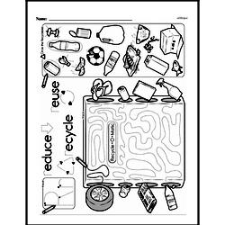 First Grade Math Challenges Worksheets - Puzzles and Brain Teasers Worksheet #13