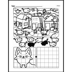 First Grade Math Challenges Worksheets - Puzzles and Brain Teasers Worksheet #50