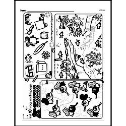 First Grade Math Challenges Worksheets - Puzzles and Brain Teasers Worksheet #12