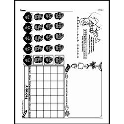 First Grade Math Challenges Worksheets - Puzzles and Brain Teasers Worksheet #155