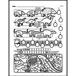 First Grade Math Challenges Worksheets - Puzzles and Brain Teasers Worksheet #19