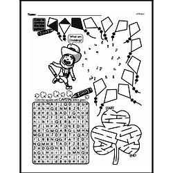 First Grade Math Challenges Worksheets - Puzzles and Brain Teasers Worksheet #138