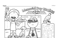 First Grade Math Challenges Worksheets - Puzzles and Brain Teasers Worksheet #143