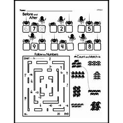 First Grade Math Challenges Worksheets - Puzzles and Brain Teasers Worksheet #9