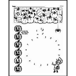 First Grade Math Challenges Worksheets - Puzzles and Brain Teasers Worksheet #129