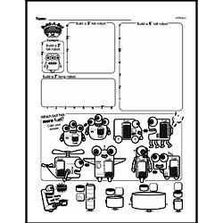 Free First Grade Measurement PDF Worksheets Worksheet #14