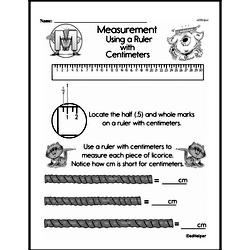 Free First Grade Measurement PDF Worksheets Worksheet #26