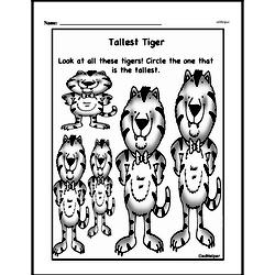 Free First Grade Measurement PDF Worksheets Worksheet #8