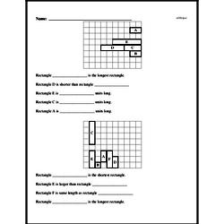 Free First Grade Measurement PDF Worksheets Worksheet #3
