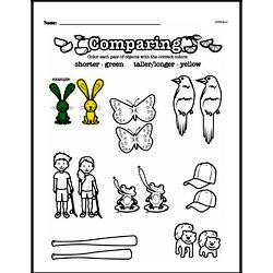 Free First Grade Measurement PDF Worksheets Worksheet #5