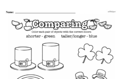 Free First Grade Measurement PDF Worksheets Worksheet #6