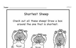 Free First Grade Measurement PDF Worksheets Worksheet #38