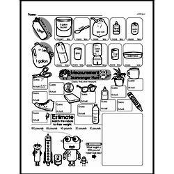 Free First Grade Measurement PDF Worksheets Worksheet #2