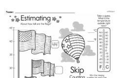 Free First Grade Measurement PDF Worksheets Worksheet #6