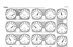 Free First Grade Measurement PDF Worksheets Worksheet #47