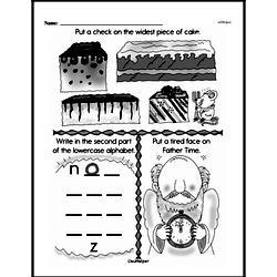 Free First Grade Measurement PDF Worksheets Worksheet #37