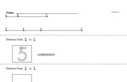 Free Measurement PDF Math Worksheets Worksheet #9