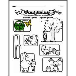 Free First Grade Measurement PDF Worksheets Worksheet #21