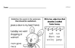 Free First Grade Number Sense PDF Worksheets Worksheet #110